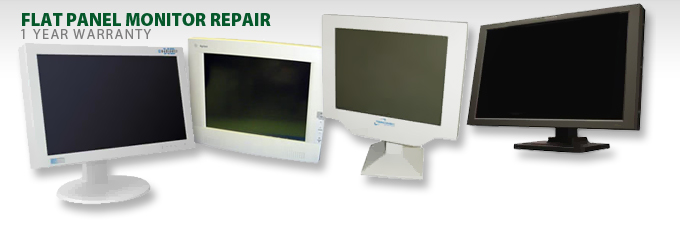 flat panel monitor repair